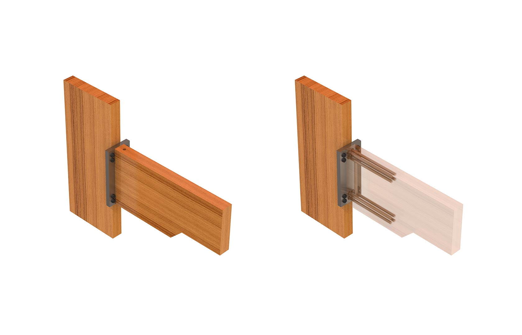 Wood Connection Hardware : Connections hyne timber